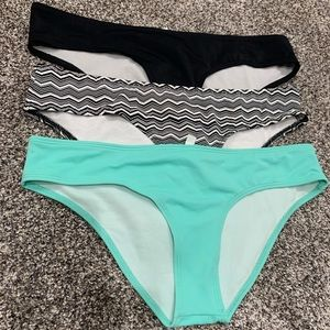 3 swim bottoms